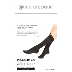 Blackspade 4034 Kadın İnce Dizaltı Çorap