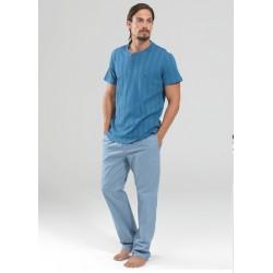 Blackspade Erkek Pijama Set 7346 İndigo