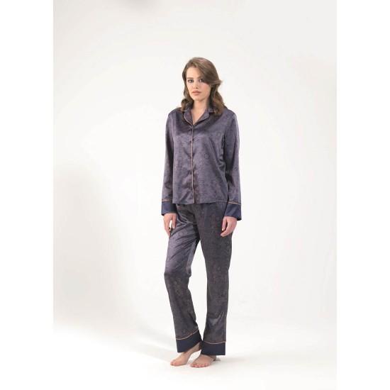 Blackspade Kadın Pijama Takımı 6618 Şal Desenli