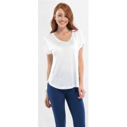 Blackspade Kadın Yuvarlak Yaka T-Shirt 6721