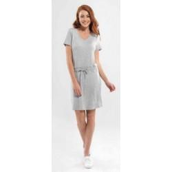 Blackspade Kadın Elbise 6750 Gri Melanj