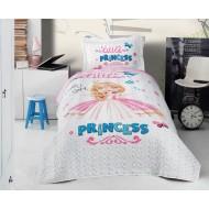 Clasy Little Princess Ranforce Tek Kişilik Yatak Örtüsü Seti Takımı