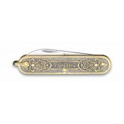 Sürbısa Krom İşlemeli Çakı Bıçağı (Tek Bıçaklı) 5,5 cm. 61803