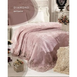 Zebra Casa Diamond Güpür Battaniye